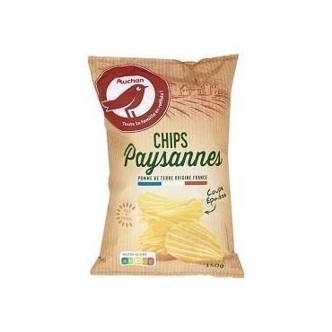 Auchan chips paysannes 150g