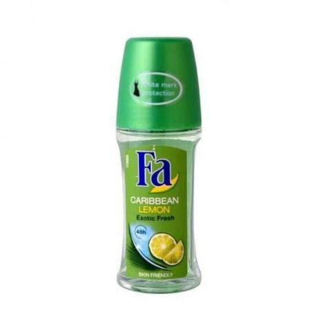 Fa déodorant roll-on carribean lemon 50ml