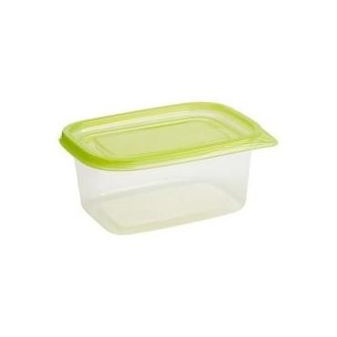 Boites plastique rectangle X4