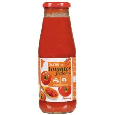 Auchan purée de tomates...