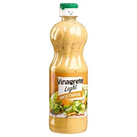 Auchan vinaigrette légère à la moutarde à l\'ancienne 50cl