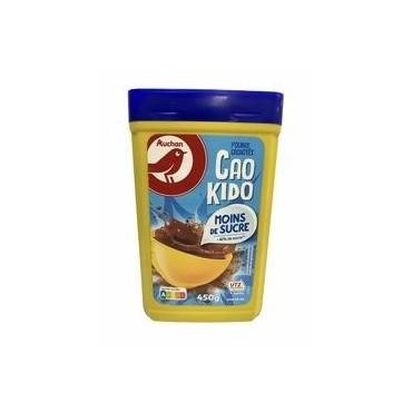 Auchan poudre chocolat 450g