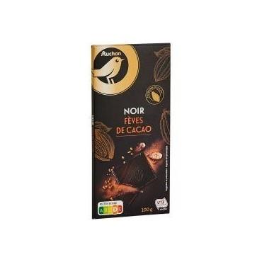 Auchan Gout Choco Noir 74%...