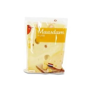 Auchan maasdam fruité 330g