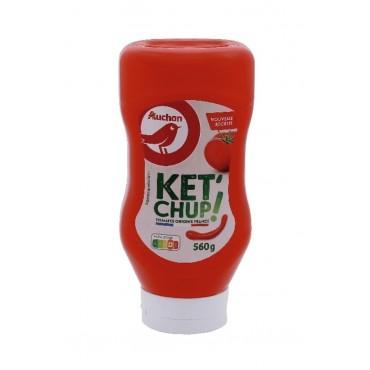 Auchan ketchup 560g