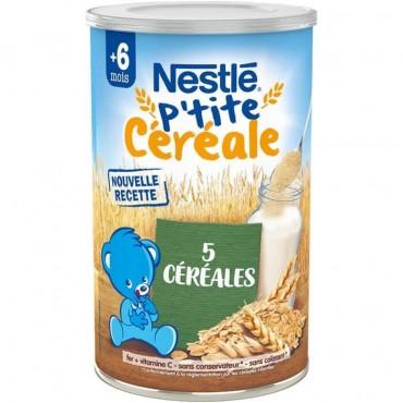 Nestlé p\'tite céréale 5...
